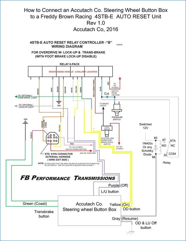 control relay wiring diagram Collection-How to control an FB OD LU and transbrake relay controller from 200r4 Wiring Diagram 2-d