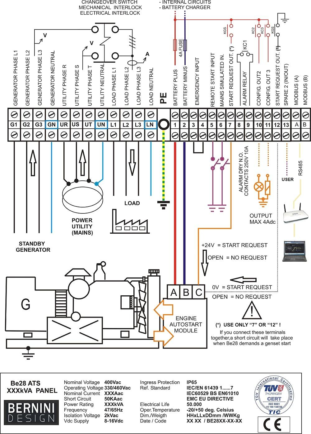 Connection Diagram Olympian Generator | Wiring Library