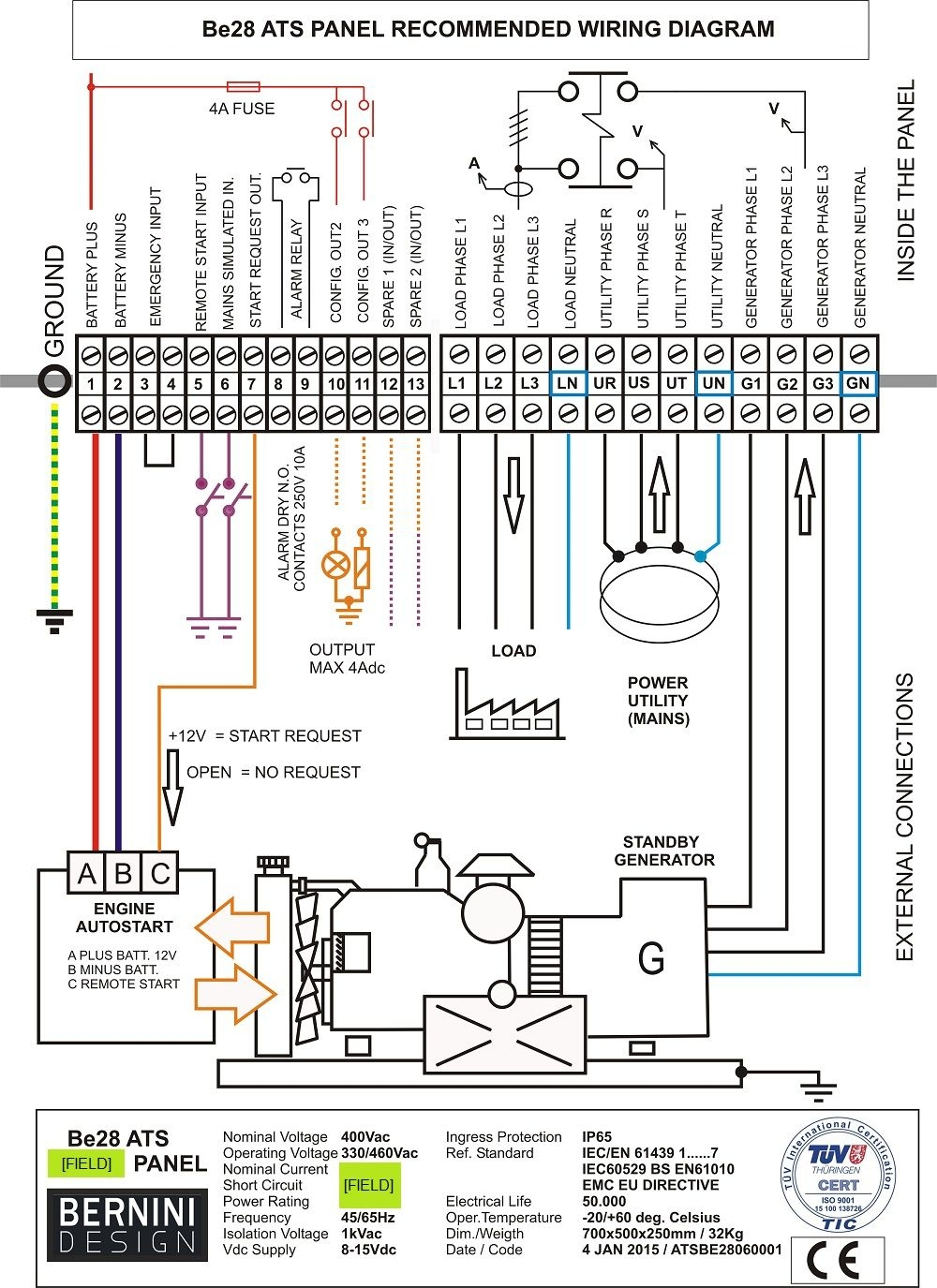 cummins transfer switch wiring diagram Download-transfer switch wiring diagram Generac Automatic Transfer Switch Wiring Diagram Throughout Free With 17-m