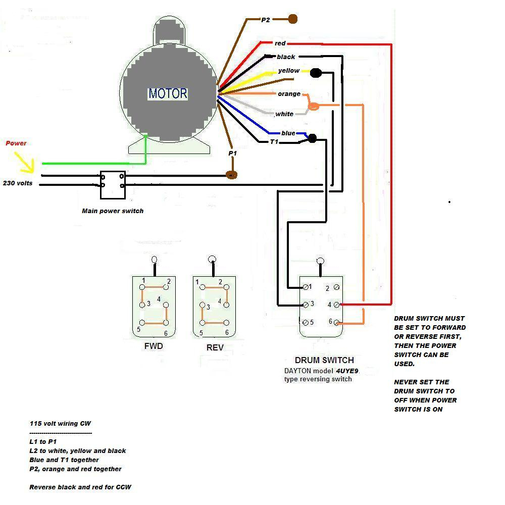 Two Speed Ac Motor Reversing Switch Wiring - Wiring Diagram & Fuse Box •