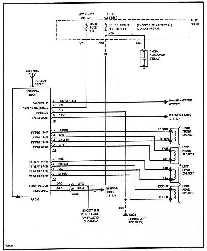 delco cd player wiring diagram wiring diagram m6