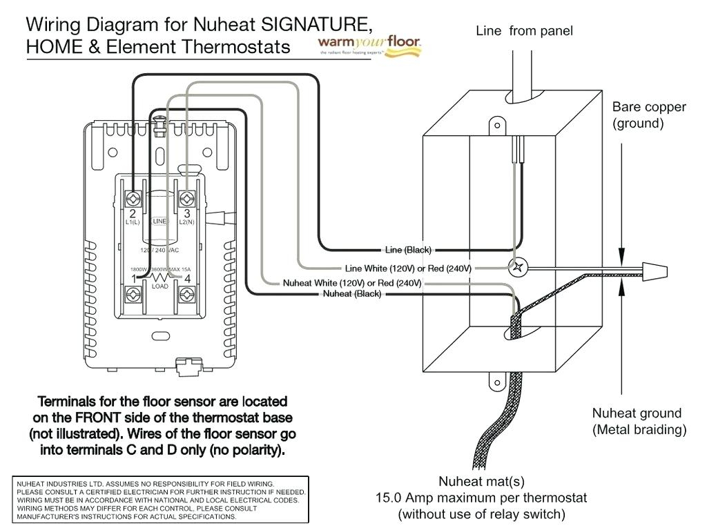 Ditra Heat Thermostat Wiring Diagram Gallery