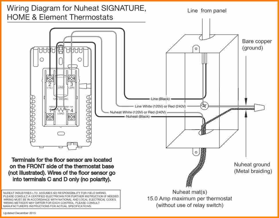 Ditra Heat thermostat Wiring Diagram Gallery | Wiring Diagram Sample