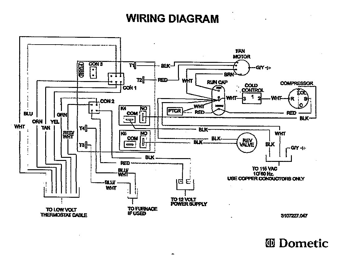 dometic ac wiring diagram Download-Dometic Wiring Diagram Diagrams At Refrigerator 2-o