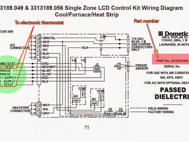 Dometic Ac Wiring Diagram - Rv Hvac Wiring Diagram Wire Center U2022 Rh Moffmall Co Dometic Ac Wiring Diagram Dometic Shroud Black 9s