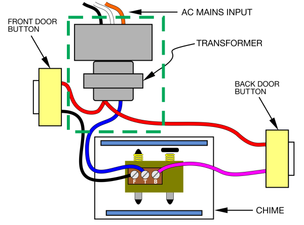 door bell wiring diagram Download-How to Install A Wired Doorbell Transformer Beautiful the Moteino Framework 49 Best How 1-o