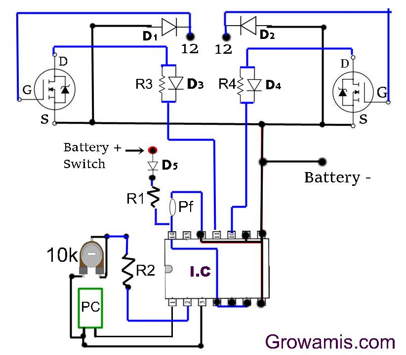 dual lite inverter wiring diagram Download-100 watt inverter using mosfet 18-d