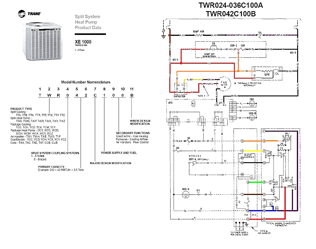 ducane heat pump wiring diagram Collection-Heat Pump Wiring Diagram  Marvelous Reference Trane And pressor. DOWNLOAD. Wiring Diagram ...