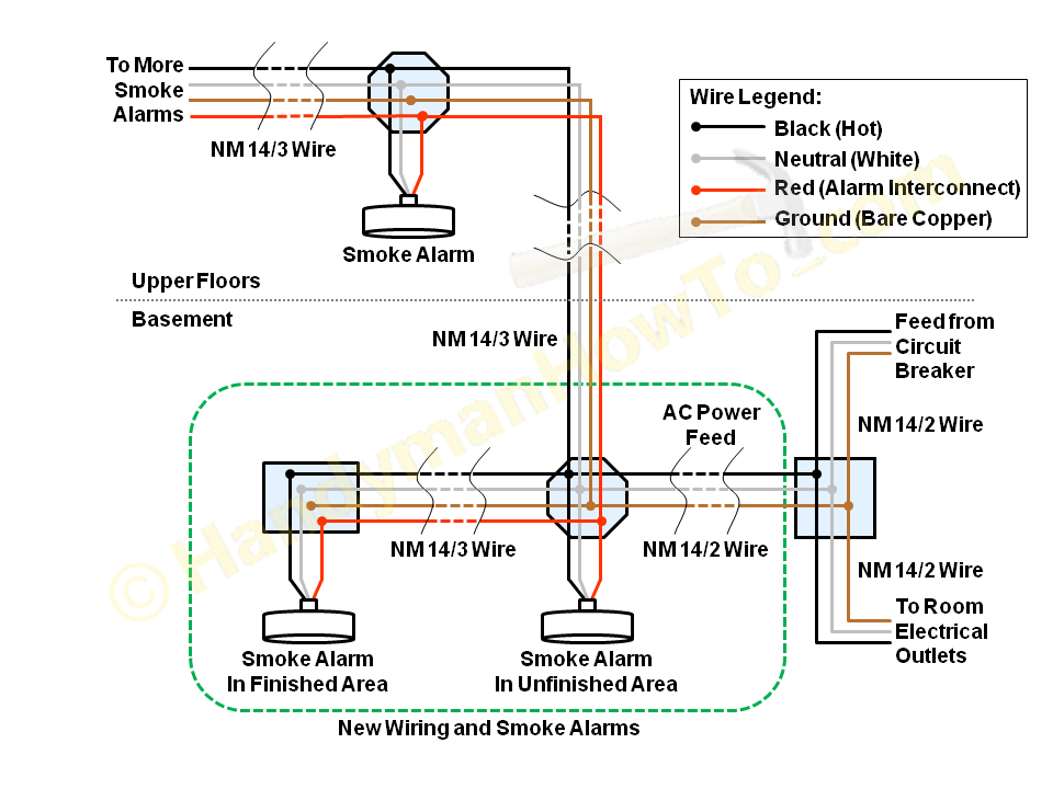 duct smoke detector wiring diagram collection-smoke detector wiring diagram  random 2 smoke detector wiring  download  wiring diagram