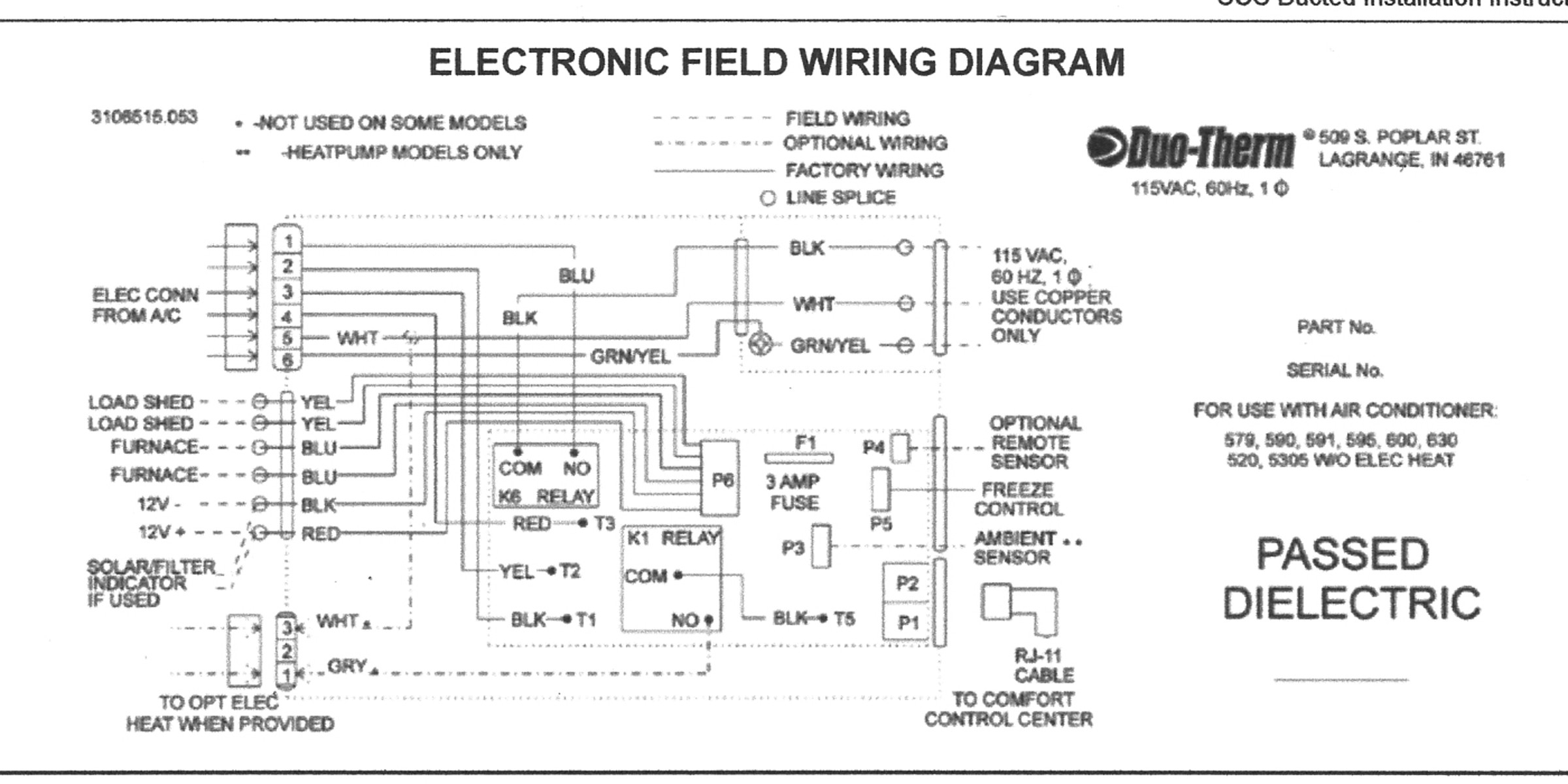 duo therm wiring diagram Collection-Wiring A Ac Thermostat Diagram New Duo Therm Thermostat Wiring Diagram And Suburban Rv Furnace Wiring 19-h