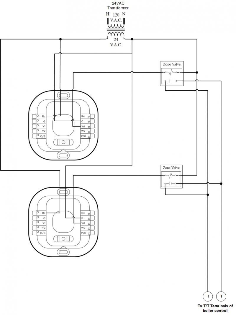 Ecobee3 Wiring Diagram - Clean Nest 4 Wire Diagram Ecobee 2 Installation Vs 2g