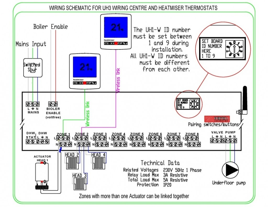 electric floor heating wiring diagram Collection-Controls Wiring Underfloor Heating Technologies Inside Electric Diagram Jpg Wd3606hd2786crop For 3-d