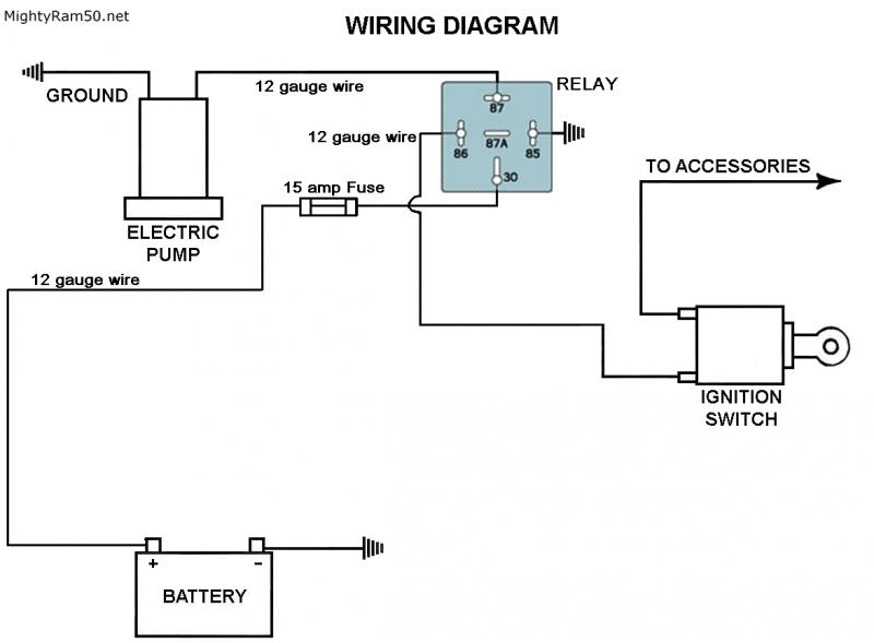 electric fuel pump relay wiring diagram wire data schema \u2022 2002 chevy s10 fuel pump wiring diagram electric fuel pump relay wiring diagram images gallery