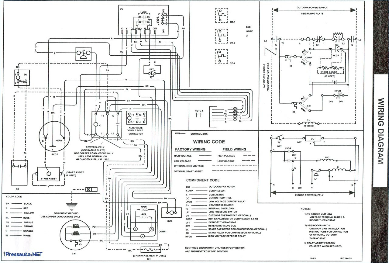 electrical contactor wiring diagram collection