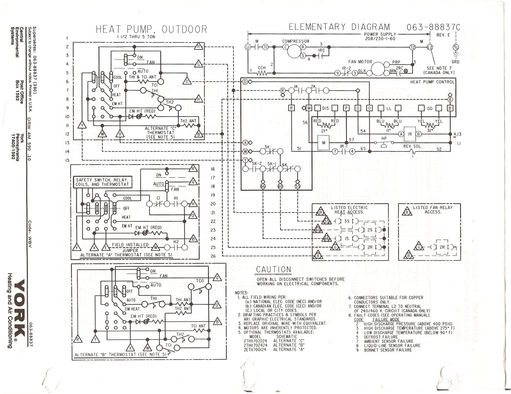 Electric Heat Strip Wiring Diagram Gallery Sample Pump Collection Carrier Air Conditioner Fresh Bryant Download