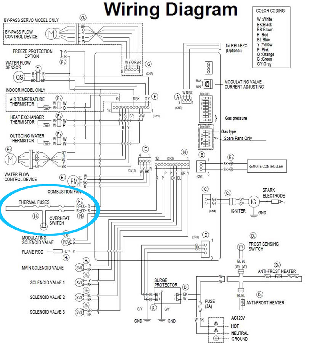 electric hot water tank wiring diagram Collection-Check the electric troubleshoot from 2008 pdf Tankless gas water heater 6-n