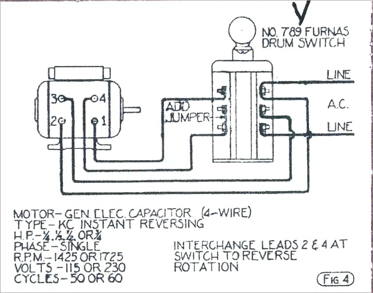 Electric Motor Reversing Switch Wiring Diagram Download Wiring