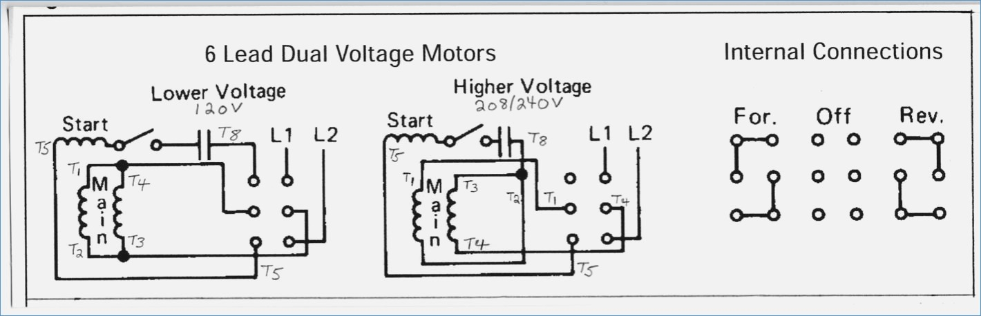 electric motor wiring diagram 220 to 110 Collection-Wiring Diagram for forward Reverse Single Phase Motor Impremedia 20-q