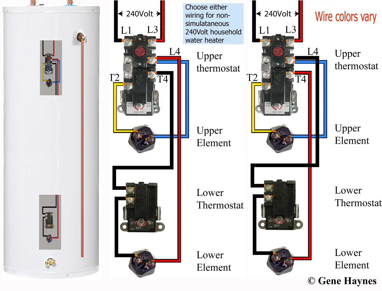 electric water heater thermostat wiring diagram Download-Water Heater Wiring Diagram Dual Element Fresh How to Wire Water Heater thermostats 3-q