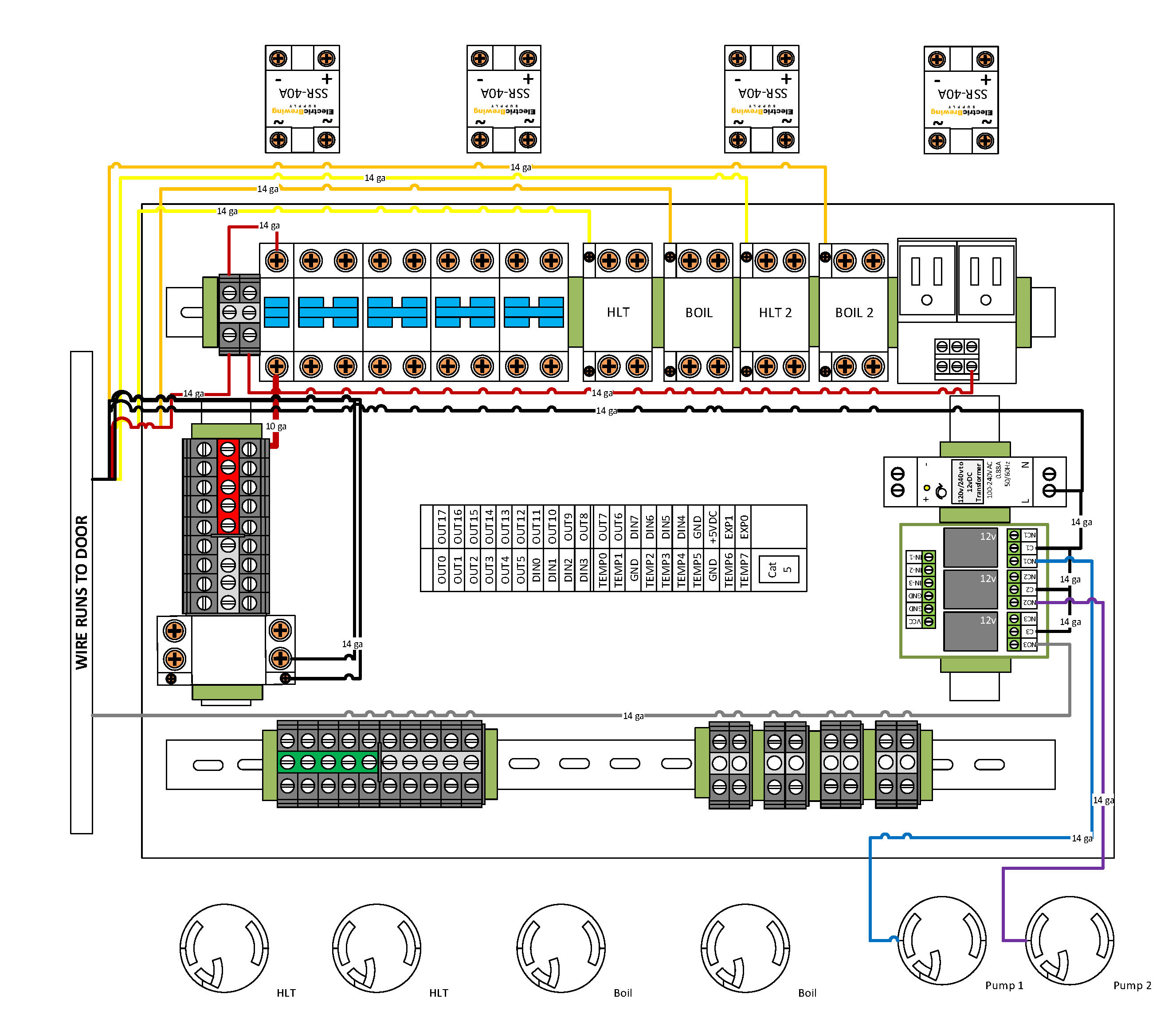 electrical control panel wiring diagram Download-Electric Brewery Wiring Diagram Fresh Bcs 4 Element Gen2 Control Panel Guide – Electric Brewing Supply 12-e
