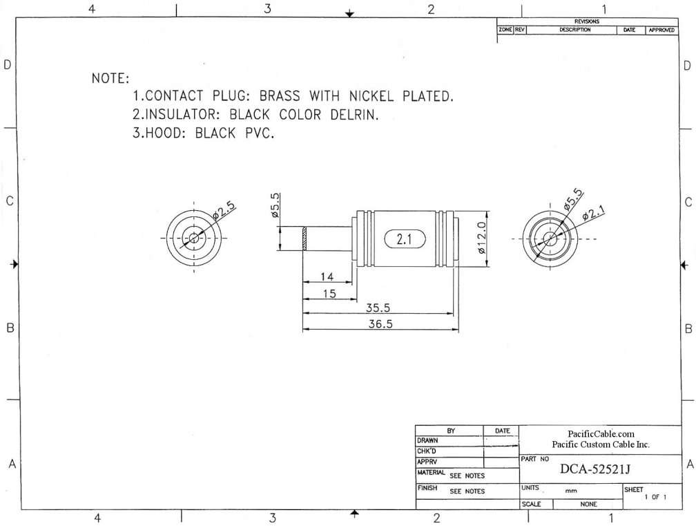electrical receptacle wiring diagram Collection-How to Wire An Electrical Receptacle Best Dca J 2 5mm Id 5 5mm Od 11-a