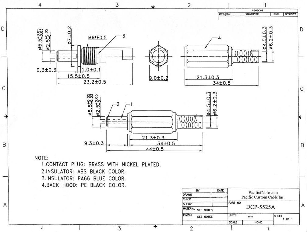 electrical receptacle wiring diagram Download-How to Wire An Electrical Receptacle Lovely Dcp 5525a 2 5mm Id 5 5mm Od Dc 9-l