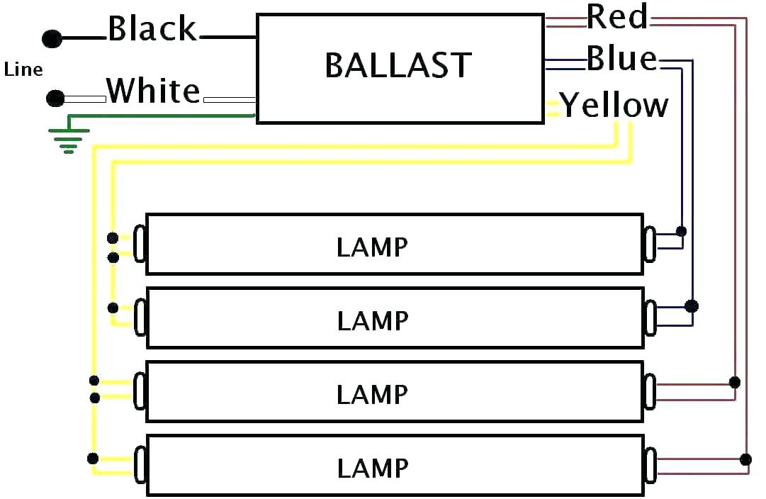 electronic ballast wiring diagram Collection-4 bulb ballast wiring diagram schematic database wire to 5 fluorescent light lamp fluorescent light wiring best ballast diagram 6-i