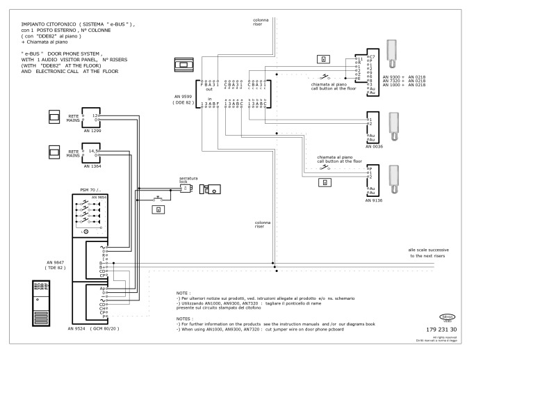 elvox intercom wiring diagram Download-Elvox Inter Wiring Diagram Unique Bitron Wiring Diagrams 17-f