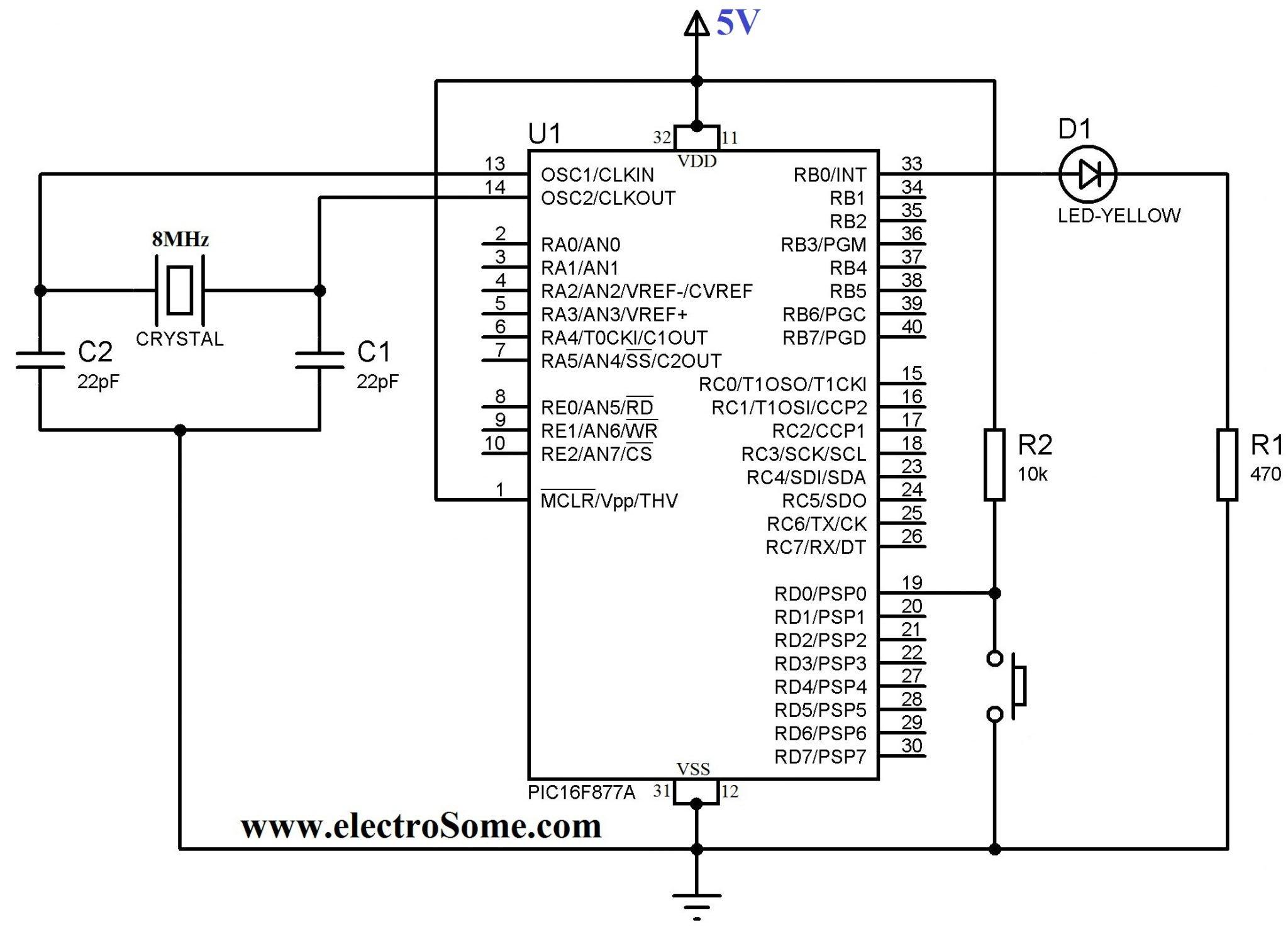emergency push button wiring diagram Download-Circuit Diagram Using Push Button 12-p