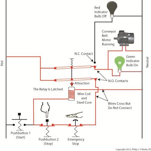 emergency push button wiring diagram Collection-emergency stop button wiring diagram Luxury Conveyor Belt 17-l