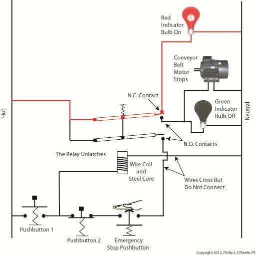 emergency push button wiring diagram Collection-Emergency Stop button Wiring Diagram Unique Conveyor Belt 11-n