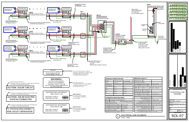enphase micro inverter wiring diagram Download-ELECTRICAL LINE DIAGRAM 4-n