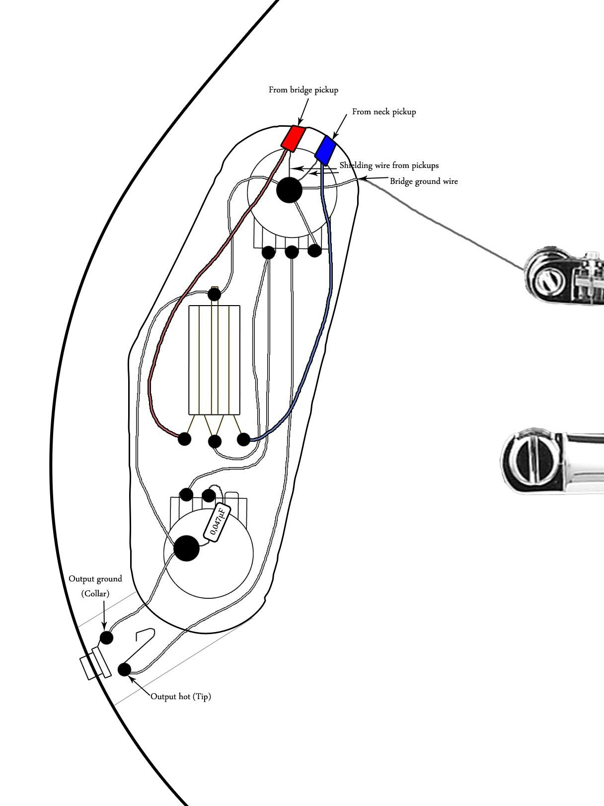 epiphone les paul special wiring diagram Download-Gibson Les Paul Special Wiring Diagram Best Wiring Diagram For Les Paul Junior Best Les Paul Junior Wiring 5-f