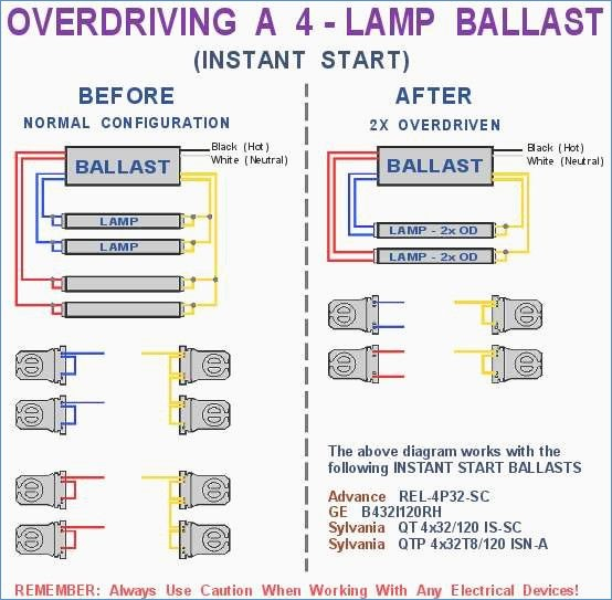 exit light wiring diagram Download-Lighting Ballast Wiring Diagram Elegant Ge 4 Lamp Ballast Wiring 5-a