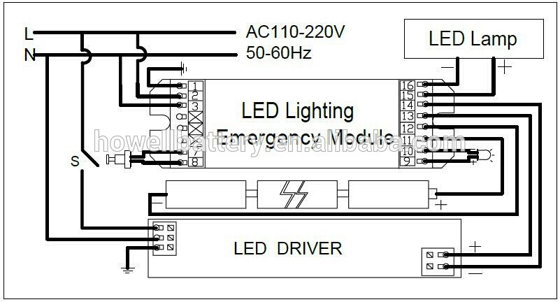 exit sign wiring diagram Collection-Epic Maintained Emergency Lighting 1-r
