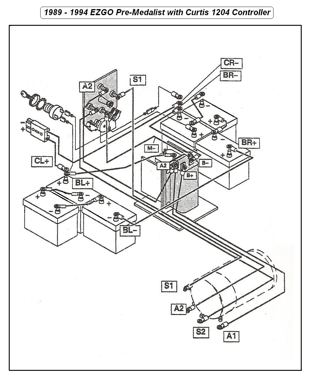ez go golf cart wiring diagram gas engine gallery