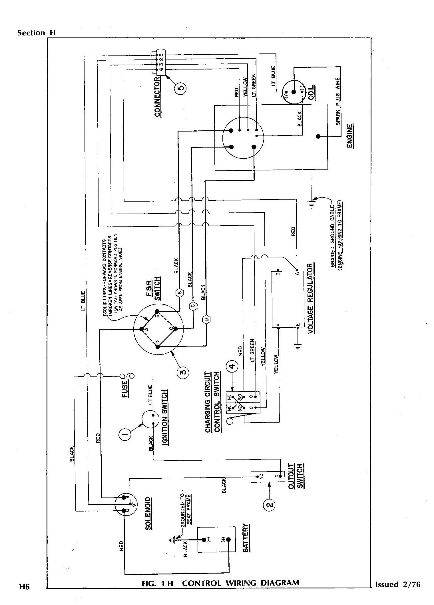 Ez Go Golf Cart Wiring Diagram Gas Engine Gallery Wiring