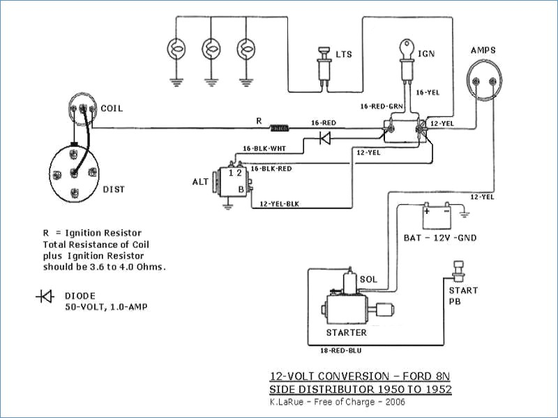 farmall h 12 volt conversion wiring diagram Collection-Best 12 Volt Conversion Wiring Diagram Contemporary Everything You 19-a