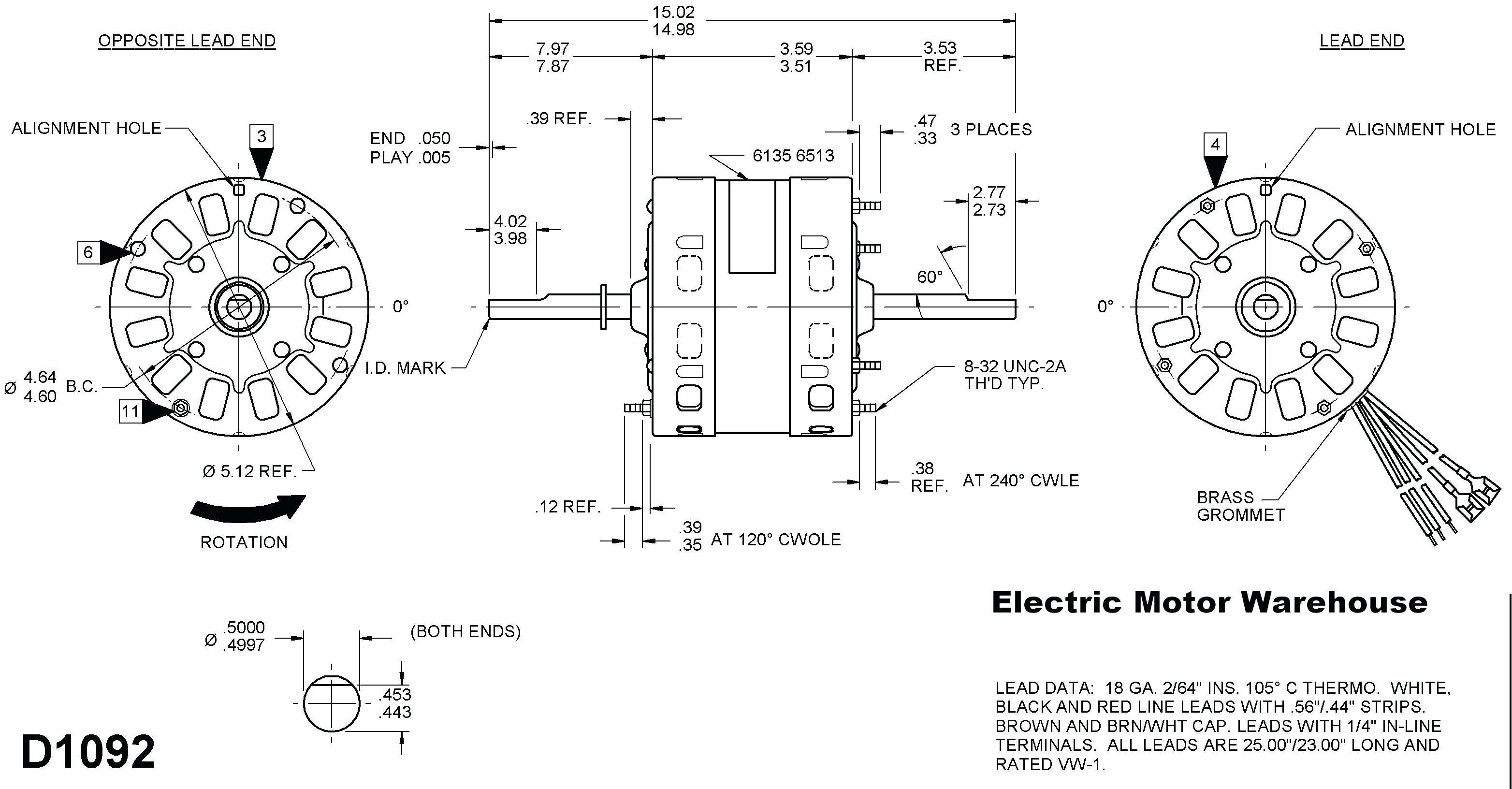 Wiring Diagram For Fasco Blower Motor : Fasco blower motor wiring diagram collection
