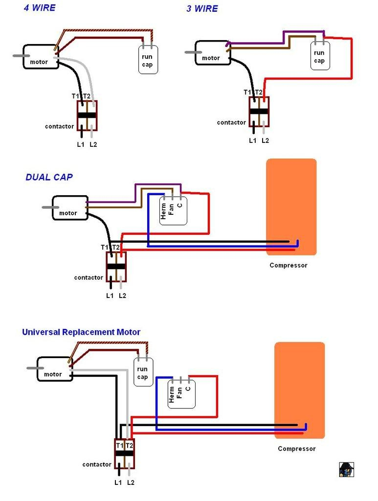fasco fan motor wiring diagram Collection-Condenser Fan Motor Wiring And Fasco Diagram For Aqua Rite 5-t