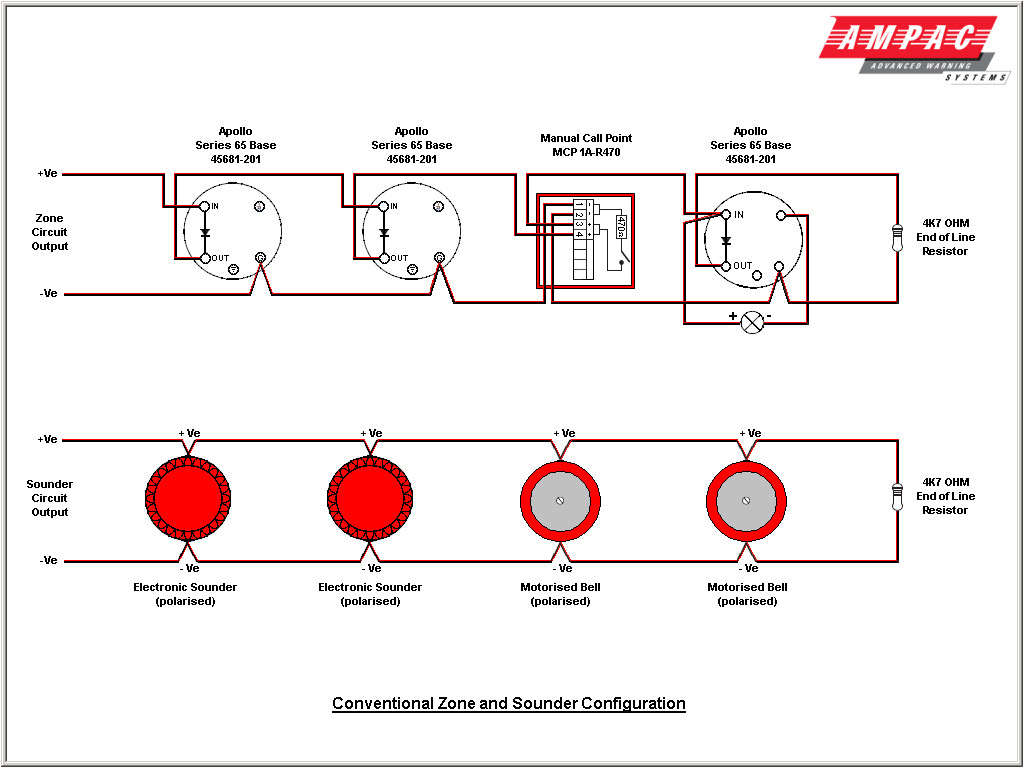 fire alarm wiring diagram schematic Download-Fire Alarm Wiring Diagram For System And In Smoke Detector Pdf A Pull Station 8 8-f
