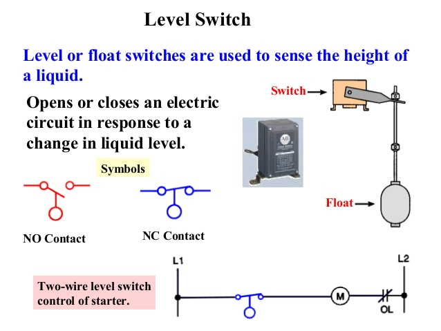 Level switch hook up