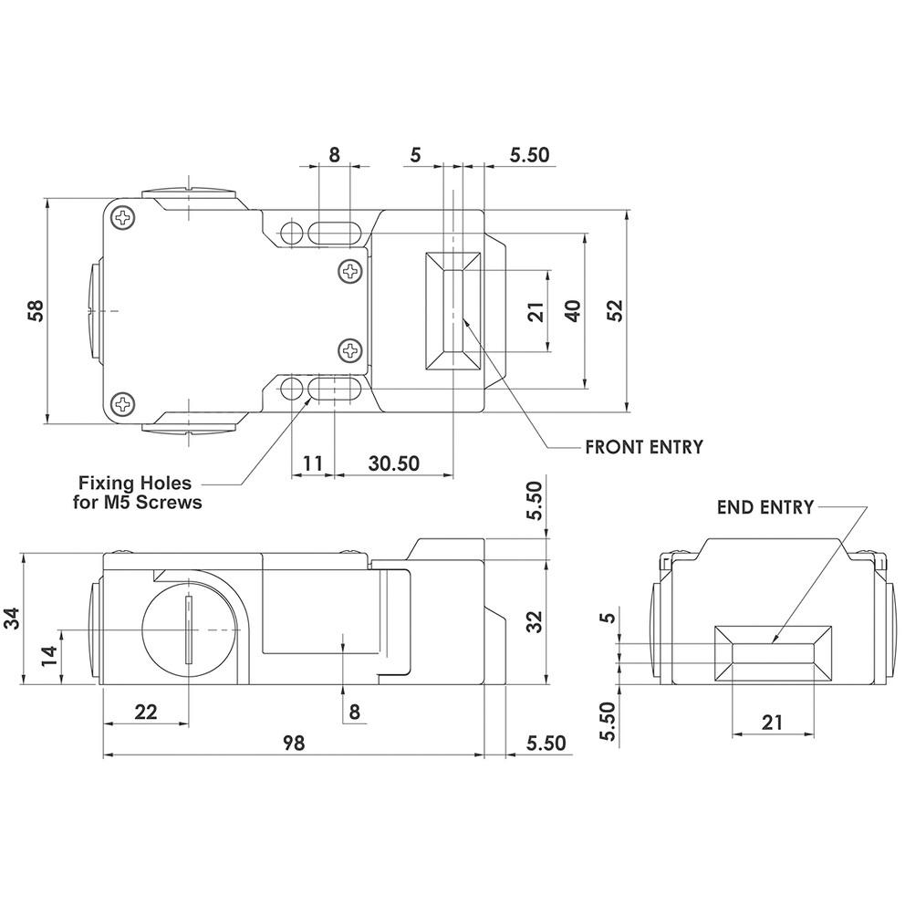 flow switch wiring diagram Download-Tamper and Flow Switch Wiring Diagrams Best Idem Stainless Steel Ip69k Safety Interlock Switch K 7-r