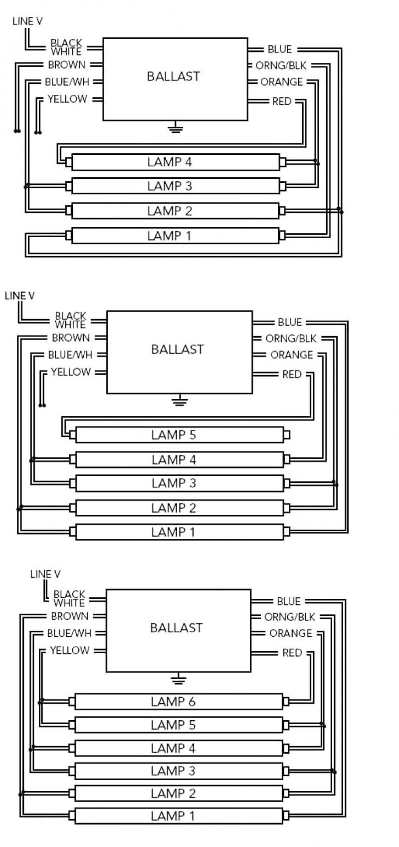 fluorescent ballast wiring diagram download