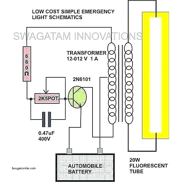 fluorescent light with battery backup wiring diagram Collection-Fluorescent Light Wiring Diagram Diagrams Schematics Beautiful For 6-e