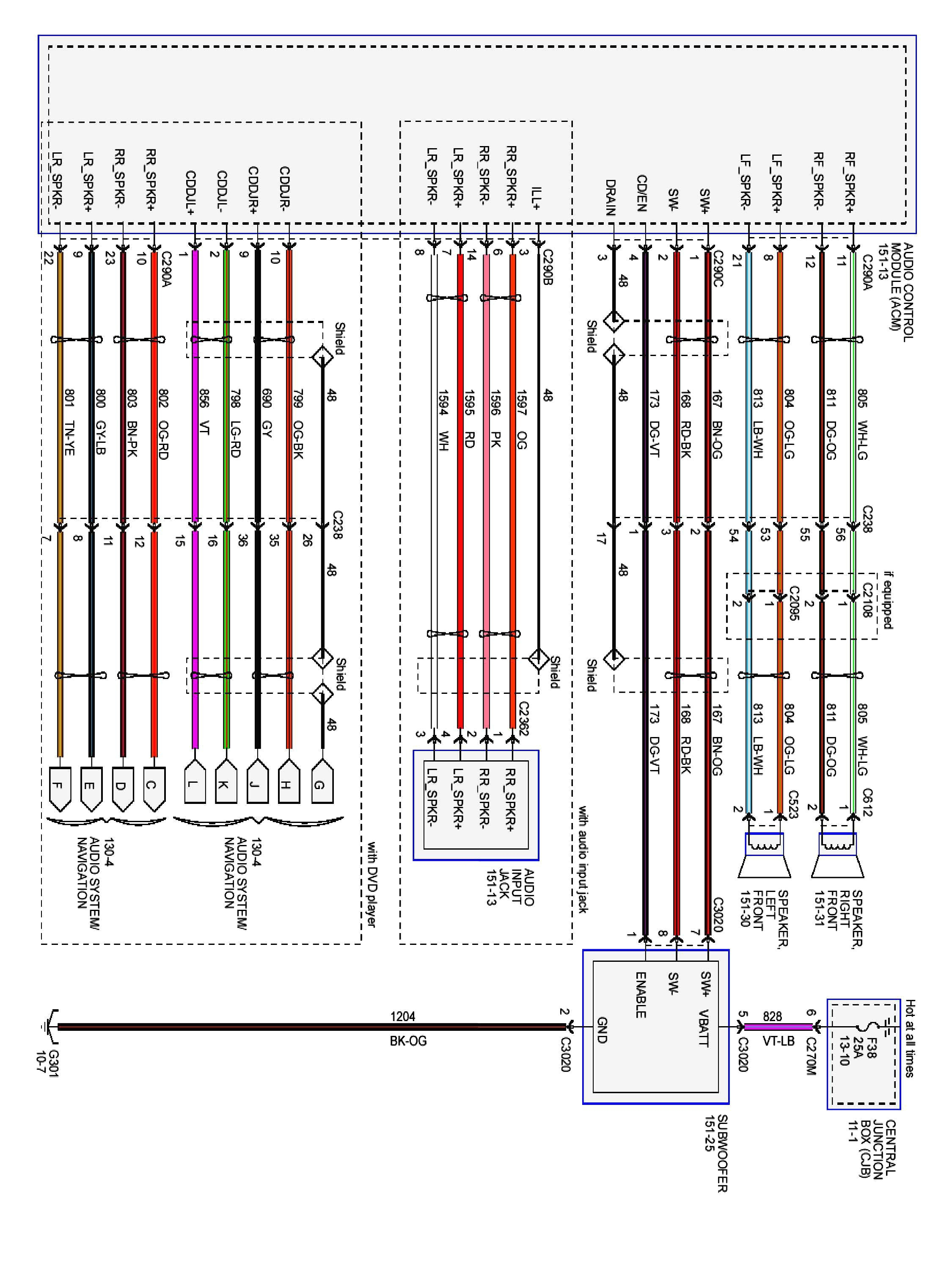 2004 Ford F550 Wiring Diagram Library F350 Fuse Box 2000 Focus Headl Harness Rh Vehiclewiring Today 2003 02