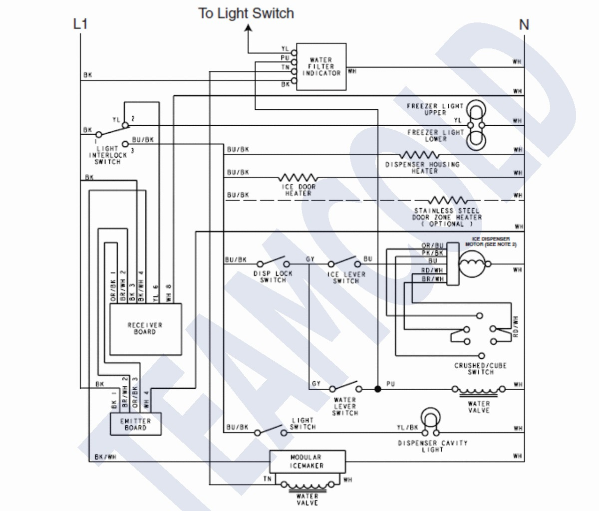 frigidaire ice maker wiring diagram Collection-Frigidaire Ice Maker Wiring Diagram And In Kenmore 12-m