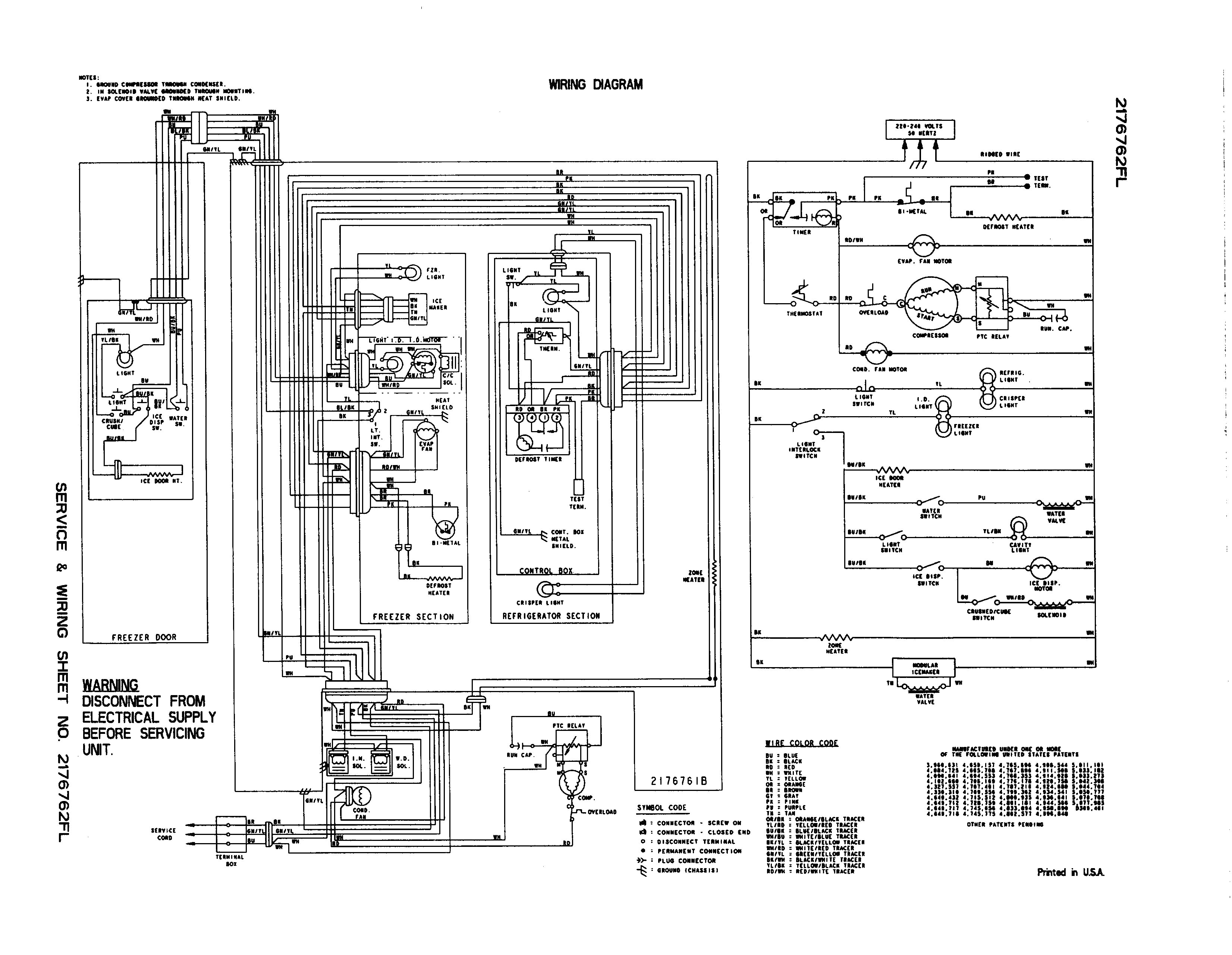 frigidaire ice maker wiring diagram Collection-Ge Refrigerator Wiring Diagram Ice Maker Fresh Whirlpool Refrigerator Wiring Diagram Electrical Schematic For 2-o