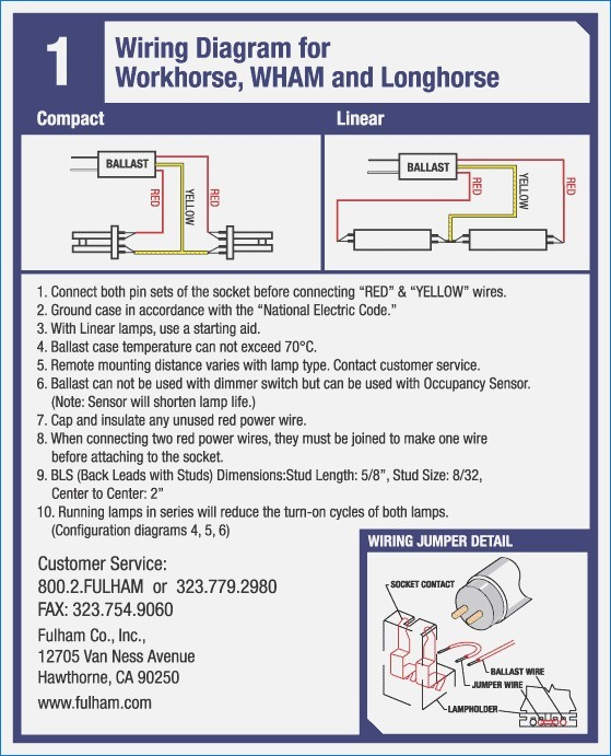fulham ballast wiring diagram Collection-Wh1 120 L Wiring Diagram – vehicledata Fulham Workhorse 5-e