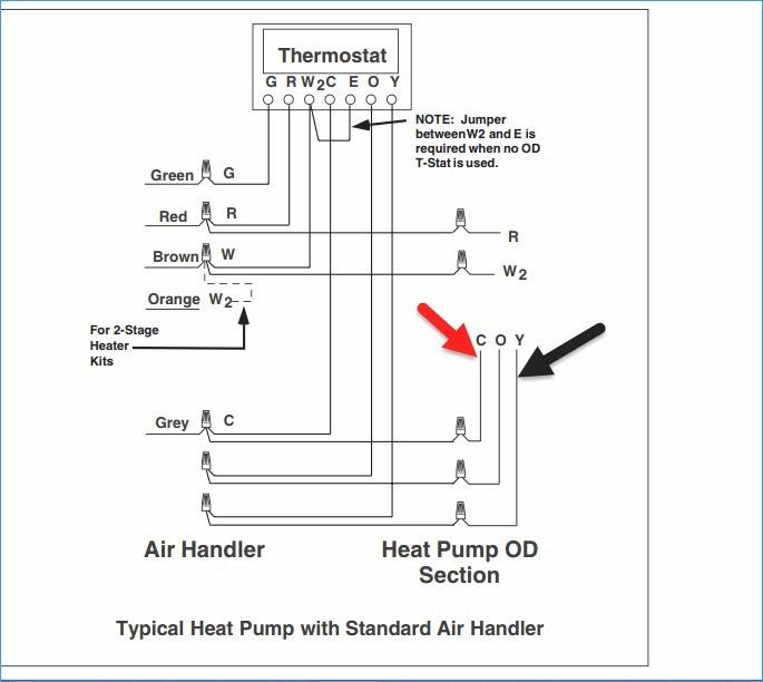 furnace blower motor wiring diagram Collection-Lovely Heat Pump Thermostat Wiring Diagram Elegant Wiring Diagram 8-m